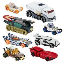 8pk Hot Wheels Star Wars The Last Jedi Toy Cars Set Kids Boy