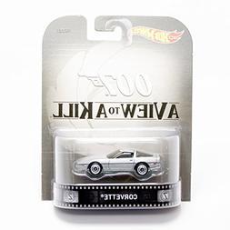 "Corvette James Bond 007 ""A View to A Kill"" Hot Wheels 2015 R"