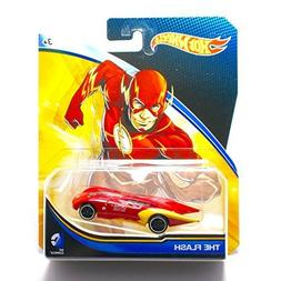 Hot Wheels, 2015 DC Comics Character Car, The Flash, 1:64 Sc