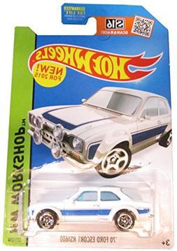 Hot Wheels, 2015 HW Workshop, '70 Ford Escort RS1600  Die-Ca
