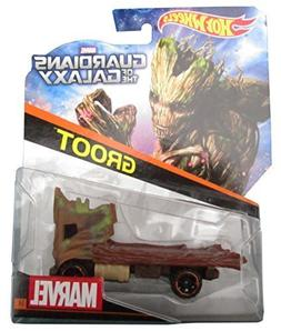 Hot Wheels Marvel Character Car Guardians of the Galaxy Groo