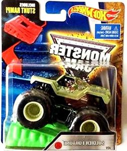 Hot Wheels Monster Jam 1:64 Soldier of Fortune Vehicle With