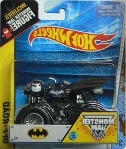 Hot Wheels Monster Jam 2015 Off-Road DC Batman 1:64 Scale, B