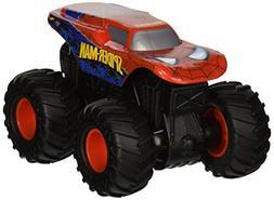 Hot Wheels Monster Jam Rev Tredz Spider-Man Vehicle
