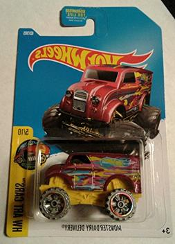 Hot wheels, 2017 New, MONSTER DAIRY DELIVERY 62/365, HW Art