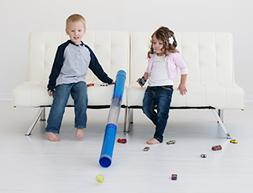 Inspiration Play Tot Tube Playset - Toy Car and Ball Tunnel