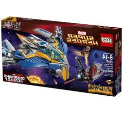 LEGO Superheroes The Milano Spaceship Rescue Building Set 76