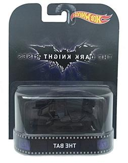 The Bat Vehicle The Dark Knight Rises Hot Wheels 2015 Retro