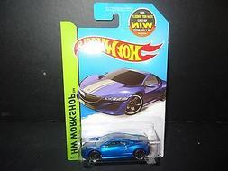 Hot Wheels Acura NSX Concept 2012 191/250 Blue 1/64