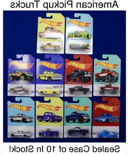 Hot Wheels American Pickup Trucks Set of 10, '83 Chevy Sil