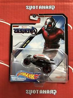 Ant-Man Avengers 2019 Hot Wheels Marvel Character Cars Mix K