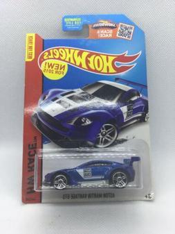 Hot Wheels Aston Martin Vantage GTS Blue HW Race 2015
