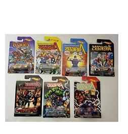 Hot Wheels Avenger Series 1-7 Set Bedlam, Purple Passion, Qo