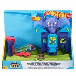 Hot Wheels City Bat Manor Attack Playset
