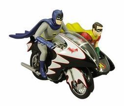 Batman Classic 1966 Series Batcycle with Batman & Robin Hot