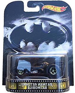 Batman Returns Batmobile Hot Wheels 2015 Retro Series 1/64 D