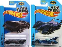 Batmobile Affinity & The Batman 75th Anniversary Hot Wheels