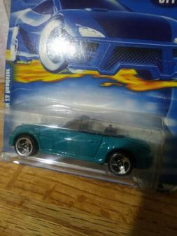 Beautiful BMW Z3 Roadster Hot Wheels turquoise color chrome