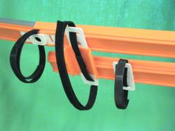 Belted Toy Track is Down with Hook/Loop. Get 2 to fit Hot Wh
