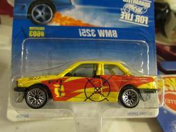 Hot Wheels BMW 325i #603 Yellow