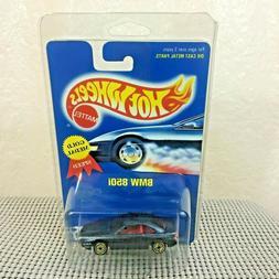 Hot Wheels BMW 850i 255 Gold Medal UH Tires Blue Card Import