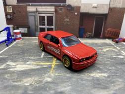 "Hot Wheels Bmw E30 M3 Custom ""Supreme"" Not Offical"