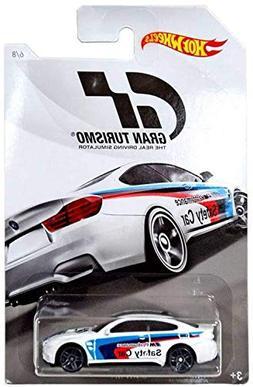 Hot Wheels BMW M4 2018 GRAN TURISMO Series #2 White BMW M4 1