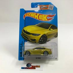 BMW M4 #24 * GOLD * 2015 Hot Wheels * WH18