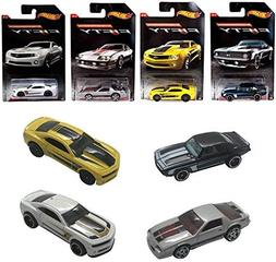 Set of 4 Hot Wheel Camaro Exclusive Fifty Edition Collectors