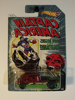 Hot Wheels Captain America Qombee