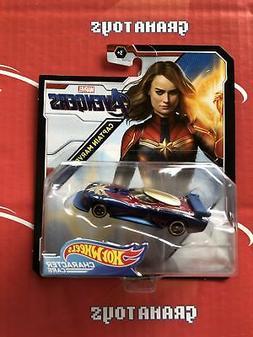 Captain Marvel Avengers 2019 Hot Wheels Marvel Character Car