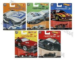 Hot Wheels Car Culture 2019 Silhouettes Set of 5 - FPY86-956