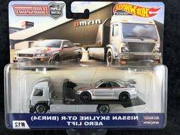 HOT WHEELS CAR CULTURE TEAM TRANSPORT NISSAN SKYLINE GT-R BN