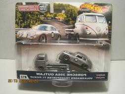 hot wheels car culture team transport porsche 356a outlaw vw