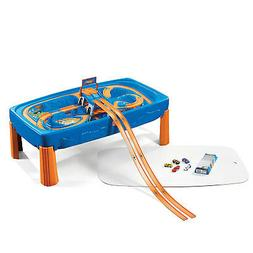 Kids Cars Toys Hot Wheels Car Track Table Racing Boys Play F