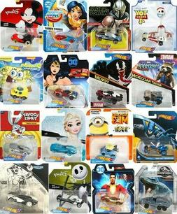 Hot Wheels Character Cars Disney Marvel Star Wars DC & More