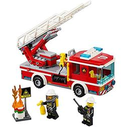 NEW LEGO CITY Fire Ladder Truck 60107 with 214 pcs. Building