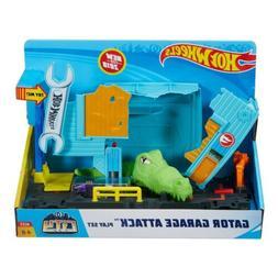 Hot Wheels City Gator Garage Attack Play Set