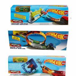 Hot Wheels Classic Stunt Track Set Mattel - 3 Themes To Choo