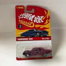 Hot Wheels Classics Ford Thunderbolt #10/30 Series 2 T3