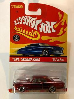 Hot Wheels Classics Series 1 Red 1965 Pontiac GTO Spectrafla