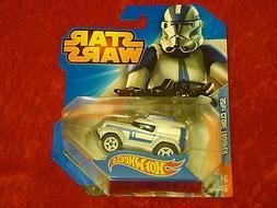 Hot Wheels Clone Trooper Star Wars Edition Helmet Vehicle !