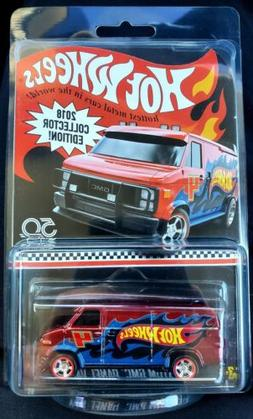 💥HOT WHEELS COLLECTOR EDITON 2018💥CUSTOM GMC PANEL VAN