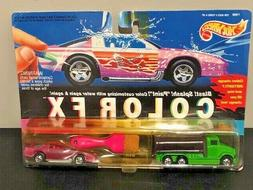 Hot Wheels Color FX Wild Cruisers 2 Pack Tanker and 92 Camar