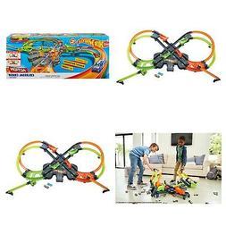 Hot Wheels Colossal Crash Track Set Boys Playset For Kids Co