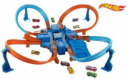 Hot Wheels Criss Cross Crash Track Set - FREE SHIPPING & NEW