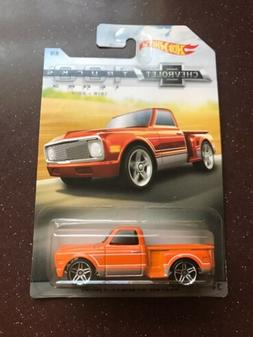 Hot Wheels - CUSTOM '69 CHEVY PICKUP - Chevrolet 100 Years o