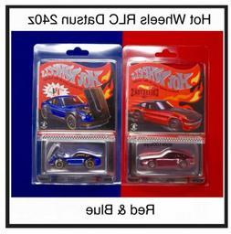 Hot Wheels Datsun Red 240z & Selections Blue '72 Datsun 24