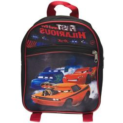 "Classy Joint Disney Cars Backpack 11"" Small Size ~ 100% Poly"