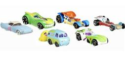 HOT WHEELS DISNEY CHARACTER CARS TOY STORY 4 BUZZ WOODY BUNN